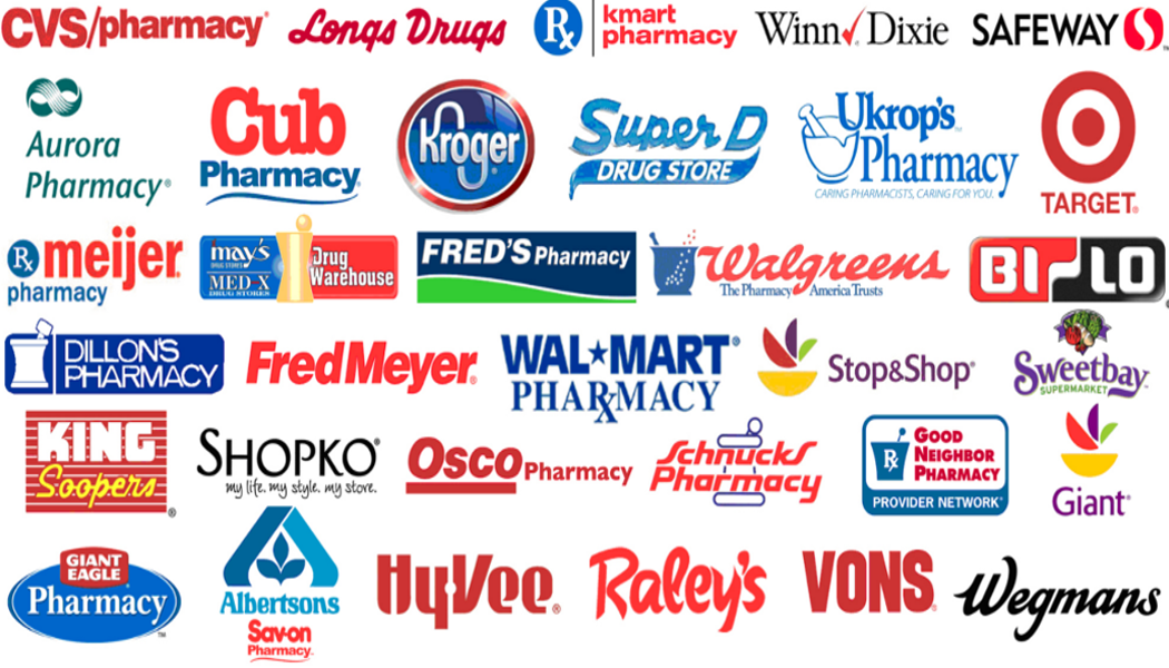 applicable pharmacies for discount drug cards